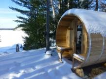 Horizont Zirbe Sauna 182